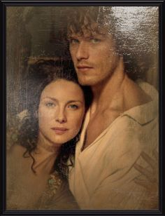 scatterations:  Portrait of Jamie and Claire Fraser, Laird and Lady Broch Tuarach