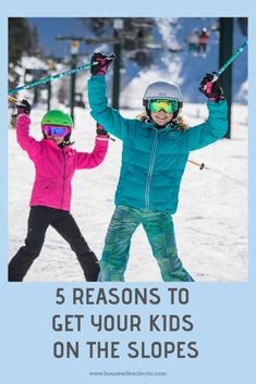 5 Reasons To Get Your Kids On The Slopes - Housewife Eclectic  skiutah   skiutahpassport 5f3762f7f