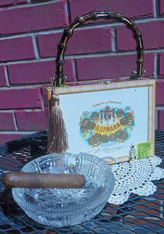 Cigar Box Purse by ReaghansRose on Etsy, $55.00