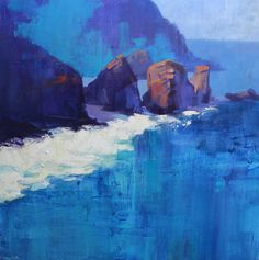 We're thrilled to have new works in by Jonathan Smith! Jonathan's calming oil paintings (such as 'Blue Depths' shown here) explore the relationships between light and landscape, colour and space, surface and depth. To enquire, please email: gallery@kelliemillerarts.com or come see them in the Brighton gallery!  #oilpainting #artinspiredbynature #blue #sea Oil Paintings, Original Paintings, Original Art, Brighton Lanes, Jonathan Smith, Calming Oils, Come And See, Contemporary Art, Fine Art Prints