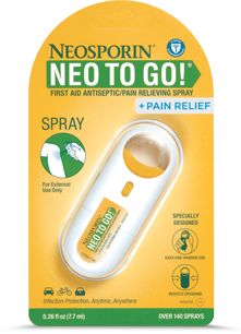 Neosporin to go!! #neoready. This will take you to the neo page where you can click around to get a coupon too! #tlcvoxbox