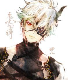 Hot Anime Boy, Anime Love, Manga Anime, Anime Art, Mutsunokami Yoshiyuki, Handsome Anime Guys, Character Creation, Touken Ranbu, Fantasy Characters