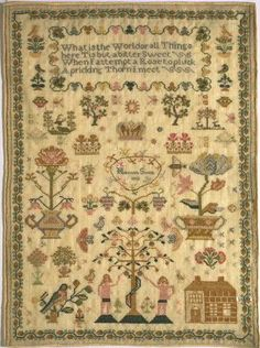 Sampler (1810) | Smith, Hannah | V Search the Collections
