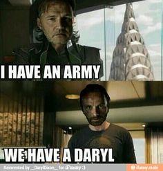Hahaha Daryl to the win!