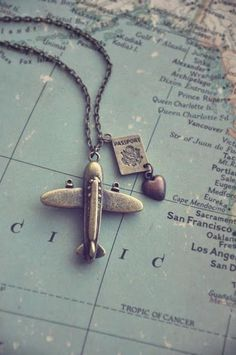 Travel... I REALLY want this necklace!!