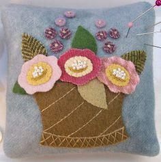 Knot Garden: Wool Pincushion