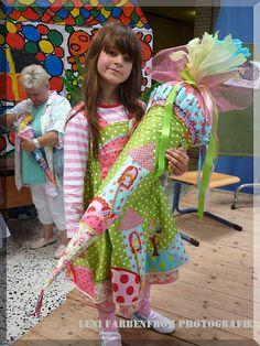 Zuckertüte un Kleid Schnittmuster / Pattern: Feliz von Farbenmix