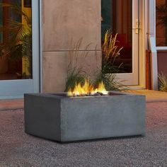 Real Flame Baltic Square Propane Fire Table Kodiak Brown - Free Shipping Today - Overstock - 16278733