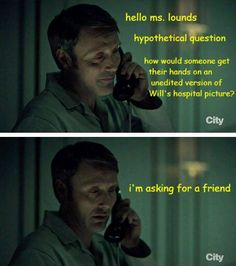 Hannibal: Will's unedited hospital photo