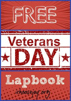 's (add art/pictures for interest) Free Veterans Day Lapbook- ideas of what to put in mini-booklets, what to read, and where to find mini-booklets Free Veterans Day, Veterans Day Activities, Holiday Activities, Holiday Crafts, Labor Day Crafts, Homeschool Curriculum, Homeschooling Resources, Homeschool Books, School Resources