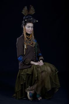 Minh Hanh. Vietnamese Fashion Designer FW11 Photo: Jack Dabaghian. Model: Thuy Dung