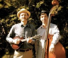 The Big North Duo, consisting of Christian McKee (pictured at left)on mandolin and Paul Prato on bass, will entertain patrons of the Lake Oswego Public Library at 7 p.m. Tuesday, Jan. 2.