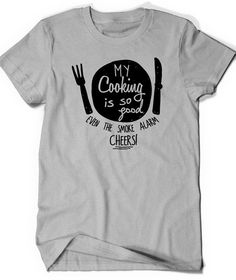 Funny Cook T Shirt Tee Mens Womens Ladies Funny Humor by BoooTees