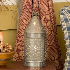 Tin Lanterns for a Warm Country Glow Country Decor | Country Cottage Decor