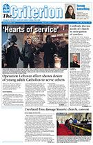 See the headlines from our March 8, 2013 issue of The Criterion