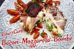 Low-Carb Bacon-Mozzarella-Bombe - bombig lecker und super einfach