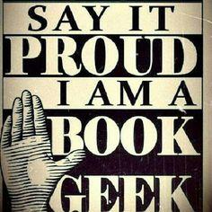 Book geek.