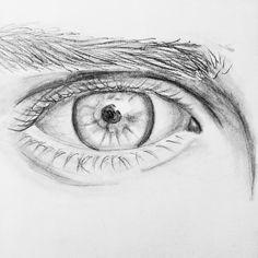 A realistic eye drawing ;)