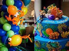 Wonderful idea for an Under the Sea birthday theme