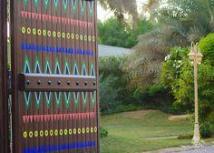 """Door to 'Secret Garden"""" in Diriyah"""