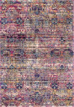 Nourish your sense of style with this fresh nuLOOM Nita Vintage Floral rug. In pink. Rectangle Area, Rectangular Rugs, Vintage Pink, Vintage Rugs, Trellis Rug, Rugs Usa, Buy Rugs, Classic Furniture, Contemporary Rugs
