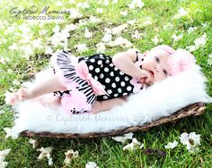Baby Makena- 2 months old  #photography