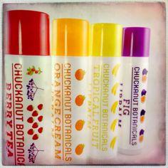 4 Pack Flavored Lip Balm