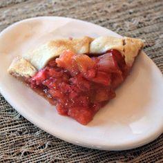 Strawberry-Rhubarb Crostata
