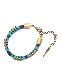 The Cordon Blue Bracelet by JewelMint.com, $30.00