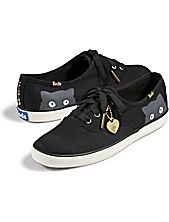 New Taylor Swift Keds - I like the peeping  cats and the gold on the end of the shoelaces