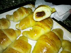 Medialunas de manteca Super faciles (fotoreceta) - Rece... en Taringa! Pan Relleno, Pretzel Bites, Diy Food, Hot Dog Buns, Scones, Donuts, Muffins, Food And Drink, Health Fitness