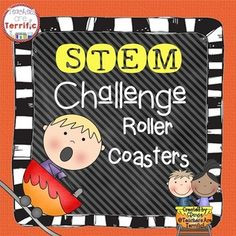 Do you love roller coasters? Kids do! This fabulous STEM activity is a roller coaster experience. Students have specific supplies and must design and construct a roller coaster model. They must work together and complete the challenge within a time limit.