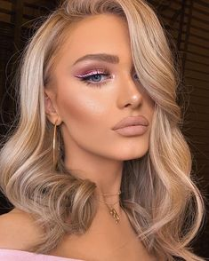 Glam Makeup, Kiss Makeup, Flawless Makeup, Gorgeous Makeup, Pretty Makeup, Bridal Makeup, Wedding Makeup, Beauty Makeup, Hair Makeup