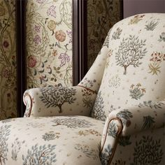 The Original Morris & Co - Arts and crafts, fabrics and wallpaper designs by William Morris & Company | Products | British/UK Fabrics and Wallpapers | Orchard (DM6F220304) | Morris Archive Prints