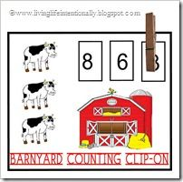 C is for Cow (Farm Unit) from Living Life Intentionally