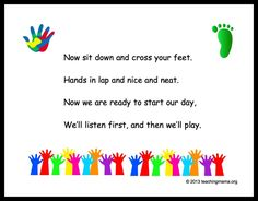 10 Preschool Transitions- Songs and Chants to Help Your Day Run Smoothly - Teaching Mama Preschool Music, Preschool Lessons, Preschool Learning, Preschool Classroom Management, Classroom Chants, Preschool Classroom Rules, Preschool Fingerplays, Kindergarten Songs, Preschool Printables