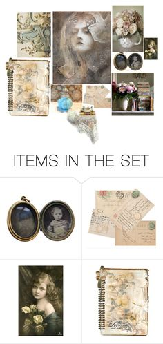 """""""Surrounded By Her Memories"""" by patchworkcrafters ❤ liked on Polyvore featuring art, artflashmob and dorataya"""