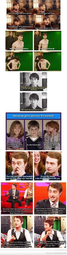 Memes harry potter daniel radcliffe 68 ideas for 2019 Harry Potter Jokes, Harry Potter Cast, Harry Potter Fandom, Harry Potter Interviews, Hogwarts, Slytherin, Hunger Games, Scorpius And Rose, Daniel Radcliffe