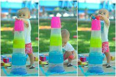 high color tower  enfant