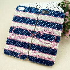 Rhinestone and Pearl, Best Friends iPhone Cases