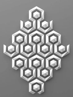 Mosaico Paper Wall Art, Paper Artwork, Instruções Origami, Carving Designs, Glass Wall Art, 3d Prints, 3d Wall, Art Design, Fractal Art