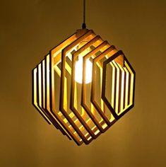 25 ideias de Luminária de mdf | luminária de mdf, luminária, luminaria de  madeira