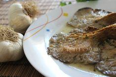 Funghi al sapore d'aceto I manicaretti di nonna Lella http://blog.giallozafferano.it/graziagiannuzzi/funghi-sapore-daceto/