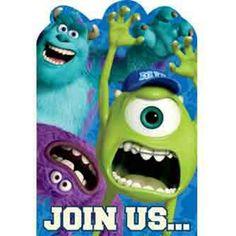 Monster University Invitation