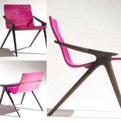 Stance Chair design by John Niero