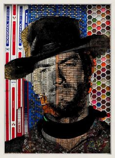 Pop Art-Portraits Created With Found Objects by French Artist Renaud Delorme