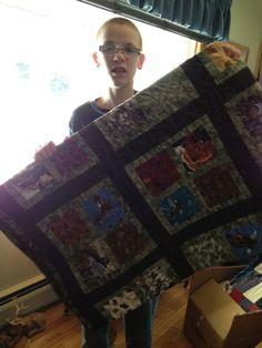 Wildlife Rustic Dylan's quilt