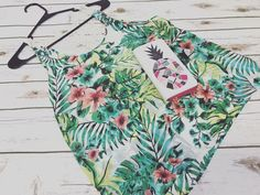 Happy Monday from this adorable set!! The perfect summertime look! Grab your wallet and hit the town in this adorable #Tropical tank! #Summertime  #ILoveSummer #HappyMonday #TropicalParadise #Vacation #SummerTimeOutfit #Pineapple #Cute #instagood #instastyle #instaboutique #CreateSomethingBeautiful #Boutique #Clothing #CuteClothes #PineappleAccessories #Shopping