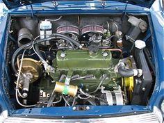 1967 Austin Mini Cooper S Mk2 Engine