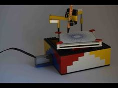 LEGO spirograph (drawing machine) - YouTube